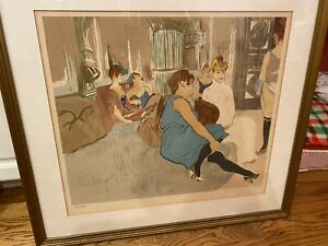 Laurent Marcel Salinas Salon After Toulouse Lautrec Lithograph $600.00