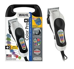 WAHL Professional CLIPPERS Men Trimmer Hair Cutting Kit Tool Machine Color Pro $49.95