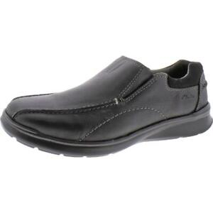 Clarks Mens Cotrell Step Leather Ortholite Slip On Casual Loafer $44.99