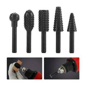 5PCS 1 4#x27;#x27; Drill Bit Set Cutting Tools for Woodworking Knife Wood Carving Tool $5.99