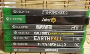 NEW SEALED Xbox One Video Game Lot Titanfall Wolfenstein Fallout Call Duty $57.99