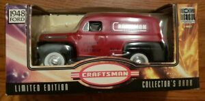 1948 Ford Sear#x27;s Craftsman Die Cast Metal Collector#x27;s Bank Truck $7.99