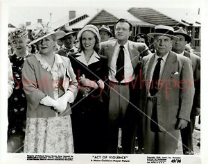 ORIGINAL1949 PHOTO JANET LEIGH VAN HEFLIN FILM NOIR STILL Act Of Violence