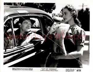 ORIGINAL 1949 PHOTO JANET LEIGH VAN HEFLIN FILM NOIR STILL Act Of Violence STILL