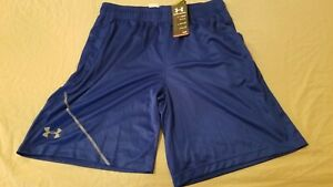 Mens New Under Armour Shorts XL Blue Athletic Gym Workout $22.92