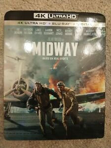 Midway 4K Ultra HD Blu ray Digital with slipcover $17.99