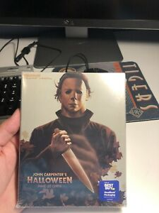 Halloween 1978 4K Ultra Blu ray Digital SteelBook BestBuy Exclusive Slipcover $54.99