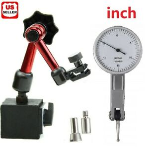 Universal Flexible Magnetic Metal Base Holder Stand Dial Test Indicator Tool USA $23.98