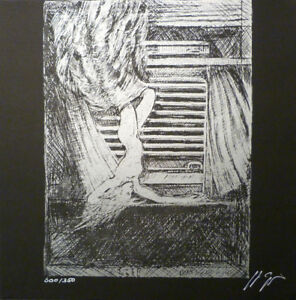 GIGER signed #x27;Species#x27; zinc plate lithograph NEW MINT $129.50