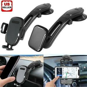 360° Mount Holder Car Windshield Stand For iPhone Samsung Mobile Cell Phone GPS $7.98