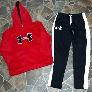 BOYS YOUTH UNDER ARMOUR Medium Lot Hoodie Pants $24.99