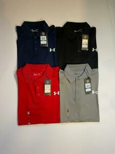 New Under Armour Mens Short Sleeve Performance Polo HEATGEAR SHIRT $24.50