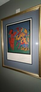 MIHAIL CHEMIAKIN quot;untitledquot; Original Limited Ed. Lithograph Signed amp; ##x27;d RUSSIAN $599.00