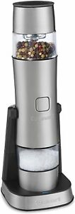 Stainless Steel Rechargeable Salt Pepper and Spice Mill $49.95