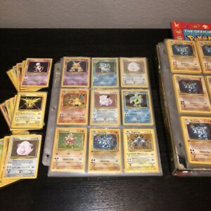 ORIGINAL Pokemon Card Lot Vintage WOTC Sets 1st Edition Rare Holo Rare $22.99