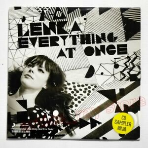 Lenka Everything At Once Taiwan Promo CD 4 Track The Show Heart Skips Best 2013