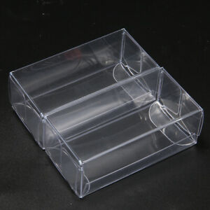 25x Display Box 1:64 Plastic Clear PVC Case Cover Show For Diecast Model Car Toy