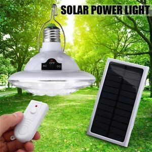 NEW Outdoor Indoor Solar Hanging Camp Lantern Tent Light w Remote 22 LED E27 $14.95