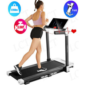 3.0 HP Large Foldable Electric Motorized Treadmill Running Machine LCD Display $559.99