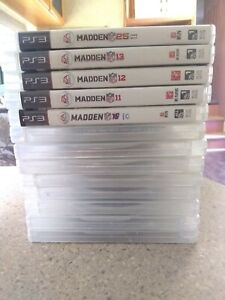 PS3 Sony PlayStation Lot of 14 games Madden grand theft auto call duty nba2k pay $21.50