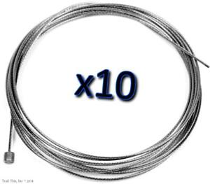 10 x Jagwire Slick Stainless Shift Derailleur Shifter Cables 2300mm SRAM Shimano $24.95