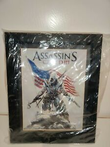 Assassin#x27;s Creed 3 Limited Edition Artwork signed by Alex Ross #160 200 Rare $200.00