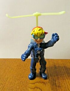 Burger King Kid Vid Toy in helicopter fly pack Kids Club Vintage 1990#x27;s $2.99