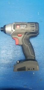 Porter Cable PC1801ID Impact Driver Drill 18V Volt Bare Tool Ex. Working Cond. $59.99