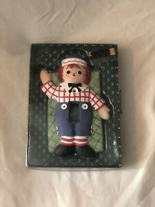 Raggedy Andy Hand Painted Whimsical Light Switch Cover Plate NIB Ranger Int $11.50