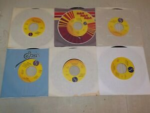 MADONNA quot;Angelquot; quot;Material Girlquot; quot;Lucky Starquot; Lot of 6 Different Vinyl 45s RE1463 $3.99