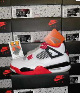 2020 Nike Air Jordan IV 4 Fire Red Tech Red DC7770 160 GS amp; MEN Sz: 3.5Y 14 $264.90