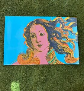 ANDY WARHOL Birth of Venus Offset Lithograph 24 x 36 Poster Picture Print 1995 $225.00