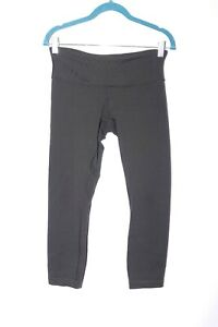 Lululemon Wunder Under Black Classic Regular Rise size 6 #B786 $22.90