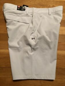 Under Armour Mens Shorts Size 34 Nwt Storm Mantra 1327527 014 Gray 4 Way Stretch $23.99