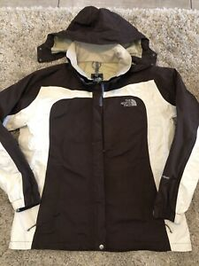 The North Face Womens Hyvent Brown Jacket Size XL Hooded