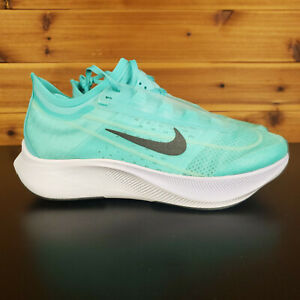 Nike Zoom Fly 3 Womens Shoes Aurora Green Grey White Running Jogging $109.99