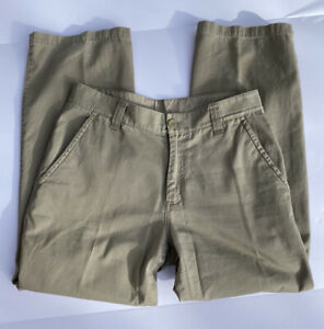 The North Face Mens Khaki Pants Size 32 Casual Hiking Outdoor Camping Jeans