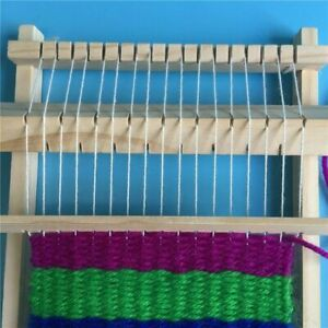 DIY Traditional Wooden Weaving Loom Gifts Toy Educational Kids Machine Knitting $7.61