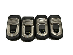 4pc Pack Kyocera DuraXT Black Sprint Cellular Phone