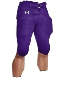 Under Armour Stock Texas Tech Tunnel Football Pants Purple Youth L $12.95
