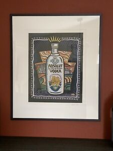 Burton Morris Art Lithograph Signed Numbered Custom Matted And Framed $349.99