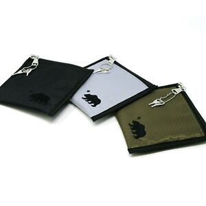 Cali Crusher 6x6 Smell Proof Herb Storage Stash Pouch w Lock Choose Color