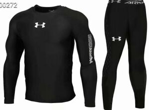 Under Armour Mens Cold Gear Long Tight and Long Sleeve Compression NEW MODEL $39.99