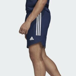 Adidas Condivo 20 Men's Running Athletic Gym CrossFit Shorts Navy Blue Bottom $24.99