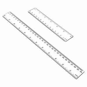 Plastic Ruler Flexible Ruler with inches and metric Measuring Tool 12quot; and 6quot; in $4.99