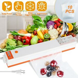 Commercial Vacuum Sealer Machine Seal a Meal Food Saver System with 10 Free Bags $21.94