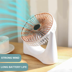 DI KQ Portable Angle Adjustable USB Charging Summer Desktop 3 Mode Cooling Coo $20.94