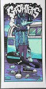 Growlers: Denver 2017 Poster Signed and Numbered by Jim Mazza AE Run of 35 $45.00