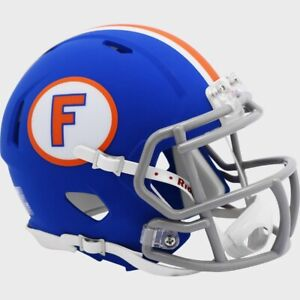 Florida Gators Matte Blue Throwback Limited Edition SPEED Mini Football Helmet $34.95