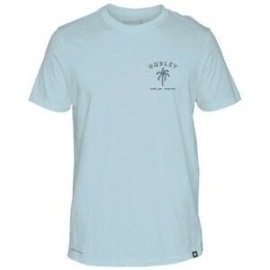 Hurley Dry Fit Lounge Tshirt Blue S $23.99